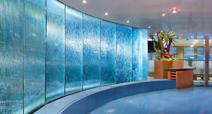 Catlin Insurance Company Water Walls Glass Wall Design