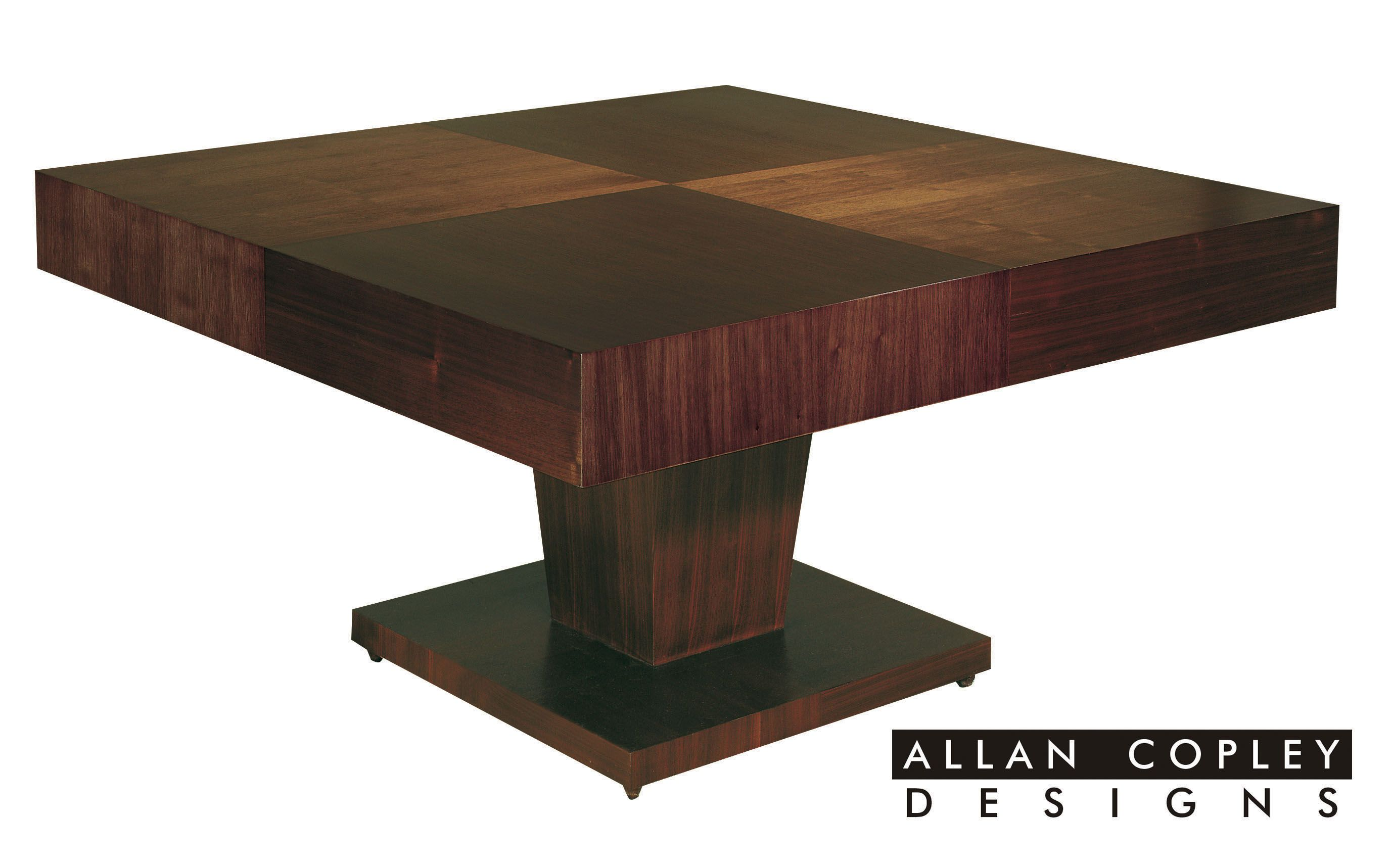 The Sarasota wood dining table by Allan Copley Designs Dining