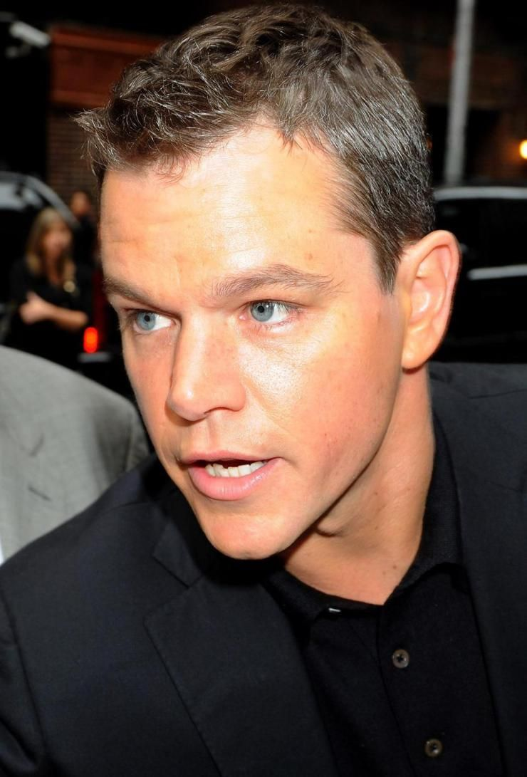 Matt Damon Thin hair men, Thin hair haircuts, Older mens