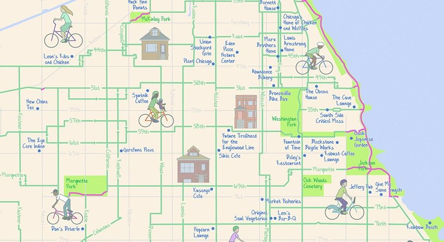 The Mellow Chicago Bike Map Our Guide To The Lowest Stress Routes