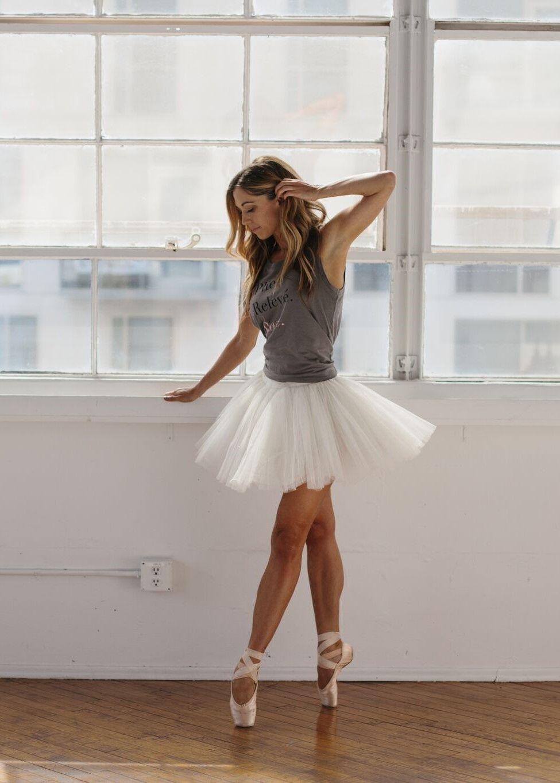 Plié. Relevé. Rosé. Tank in 2020 Ballet dance