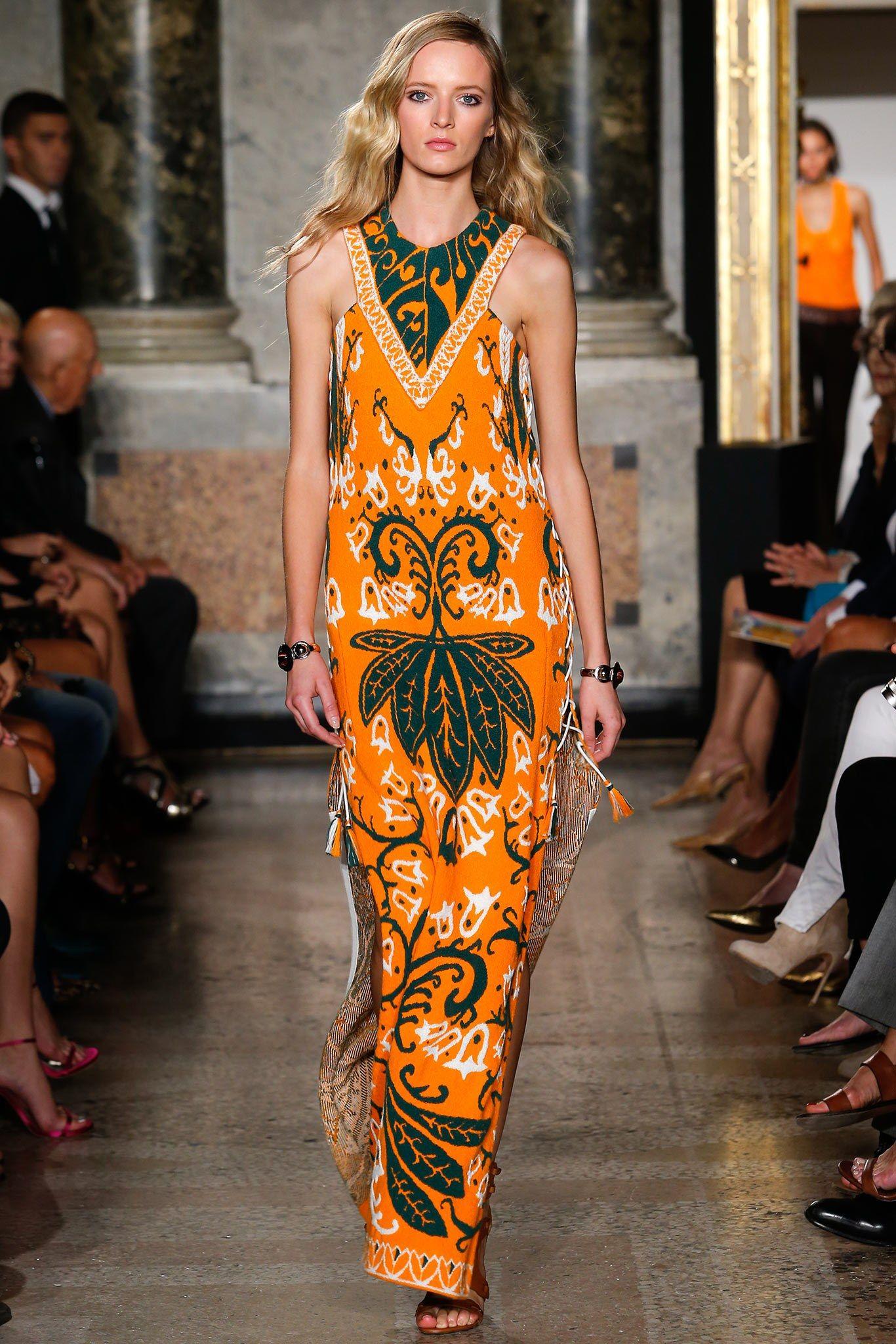 Emilio Pucci Spring 2015 Ready-to-Wear Fashion Show - Daria Strokous