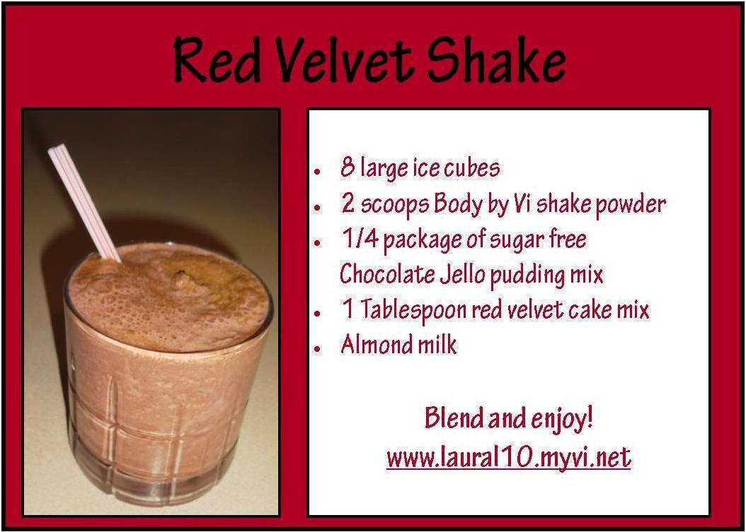 Red Velvet Shake Recipe