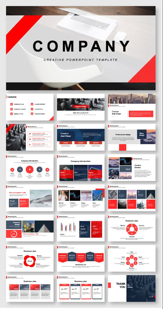 Beautiful Business Creative Report Presentation Template – Original and High Quality PowerPoint Templates