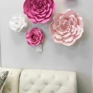 dekorasi ruang tamu dengan bunga buatan sendiri | bunga