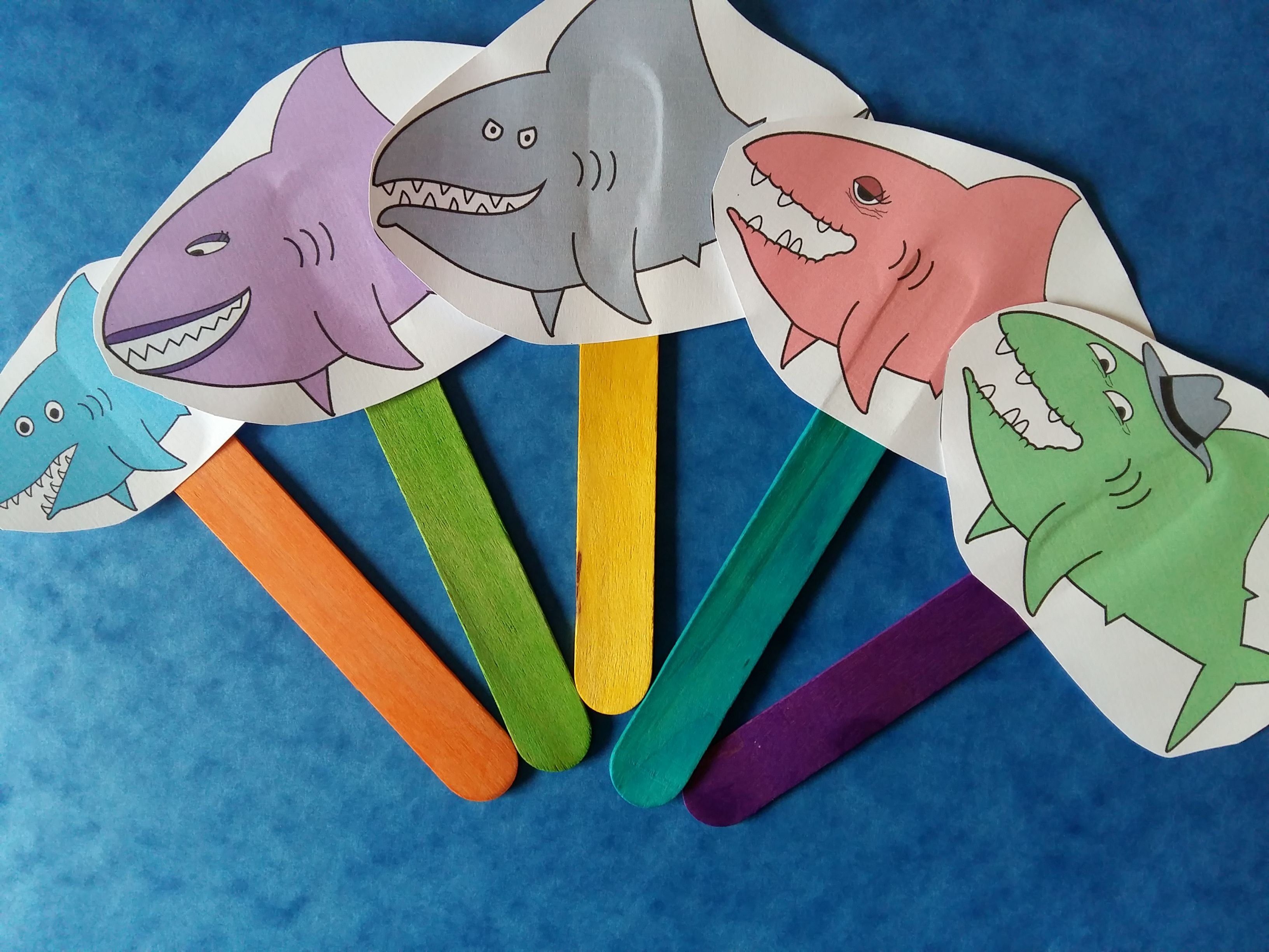 Shark In The Park Activity Pack