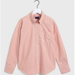 Photo of Gant Business Ex-Boyfriend Tech Prep™ Striped Bluse (Rosa) GantGant