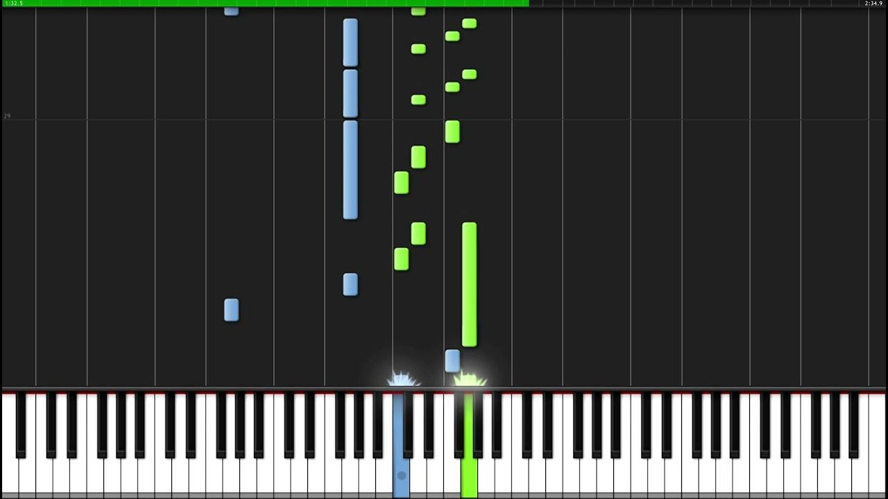Ballade Pour Adeline Richard Clayderman Piano Tutorial Synthesia