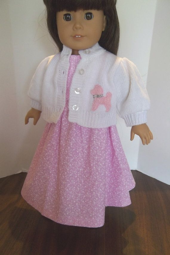 American Girl 18 Doll Clothes  Pink Floral by sewsweetdollboutique, $20.00