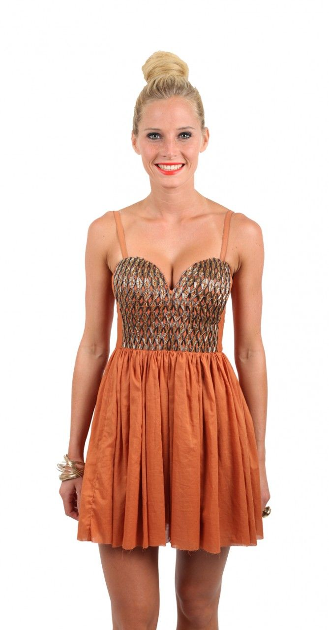 One Teaspoon Vanity Fair Dress $159 AUD