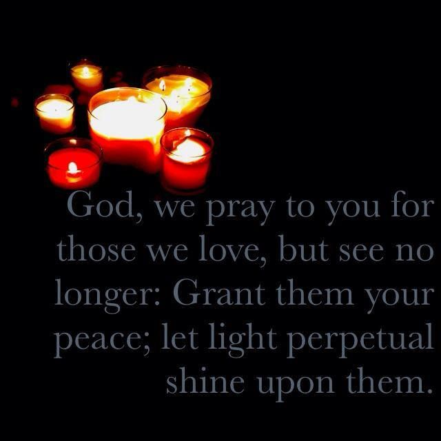 A Prayer For The Departed On All Souls Day All Saints Day Prayer All Souls Day Prayers