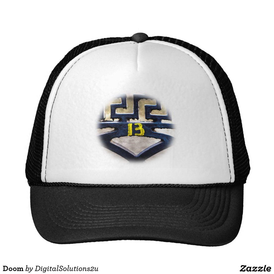 f10f0d15d47 Doom Trucker Hat