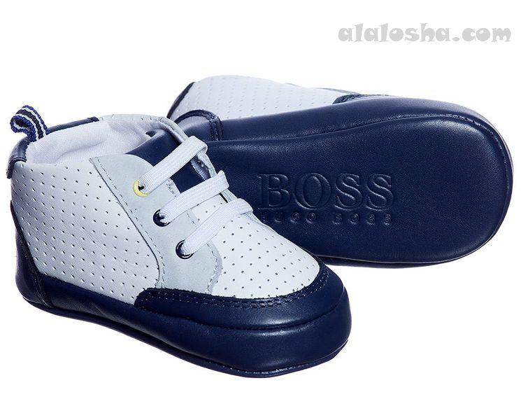 206f04774377 ALALOSHA  VOGUE ENFANTS  Baby Boys Pre-Walker Shoes FW 14  hugoboss  boss   kids