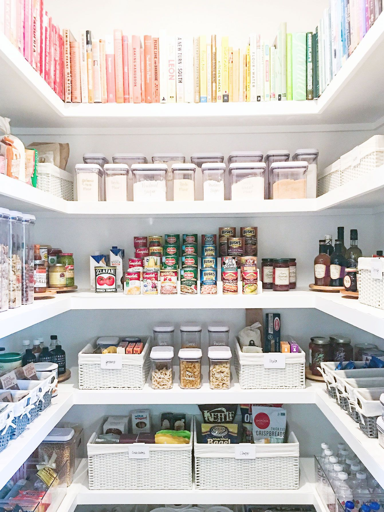 A Pro Shares 6 IKEA Kitchen Pantry Organization Ideas for 'Grammable Shelves