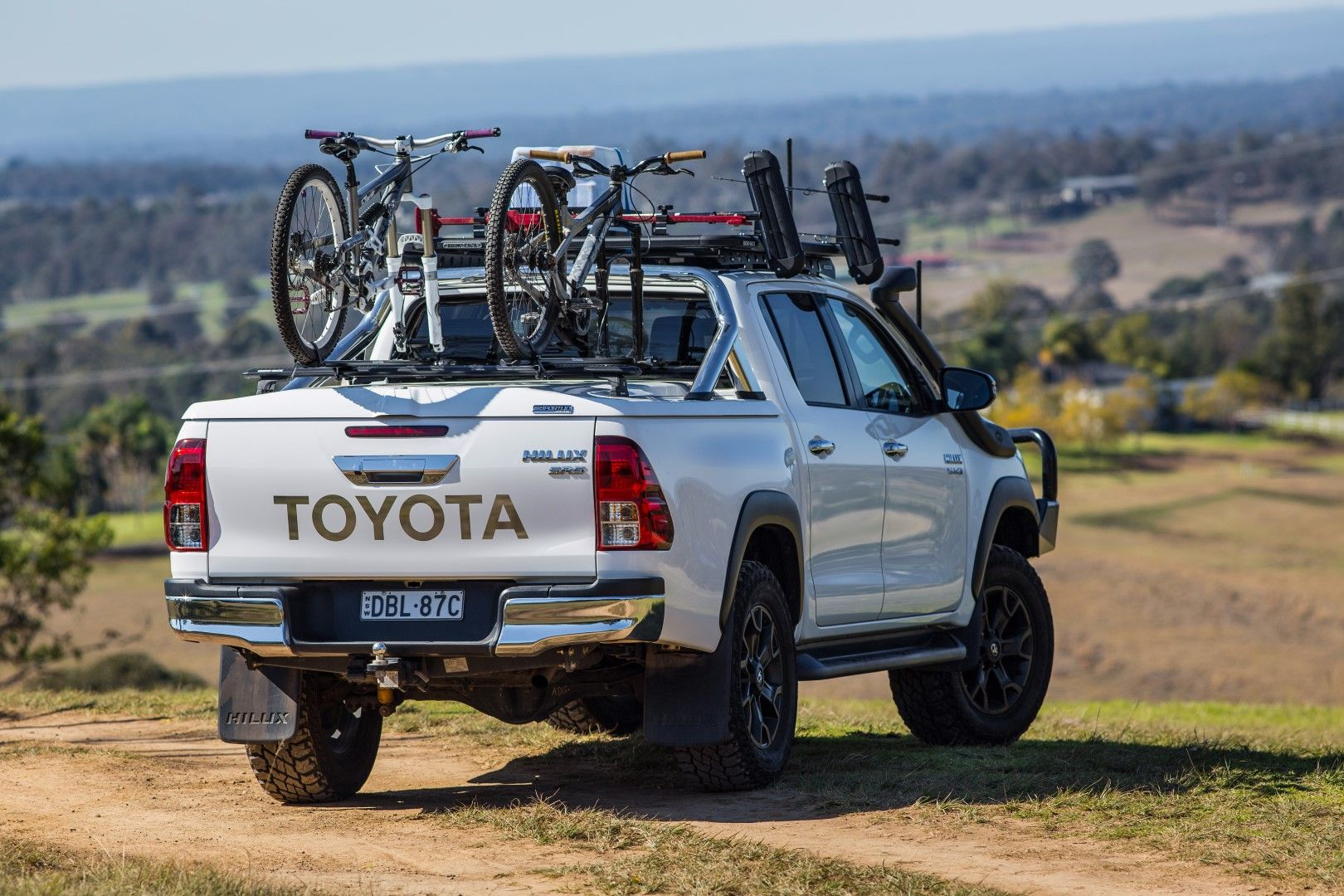 Toyota Hilux Revo With Pro Form Tonneau Cover And Rhino Rack Roof Racks Toyota Hilux Tonneau Cover Toyota
