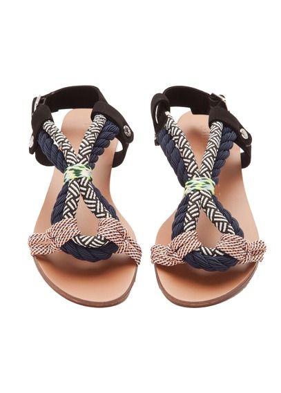 Sandales plates métalliséesBimba & Lola UjFA7Ro