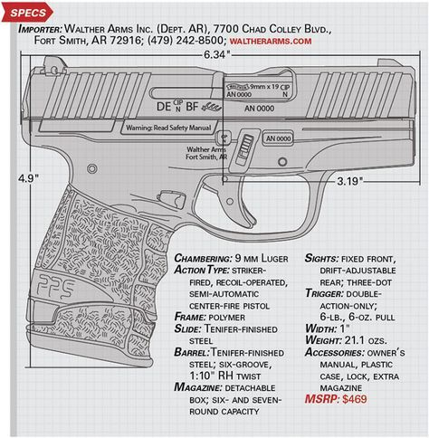 American Rifleman | Tested: Walther PPS M2 Pistol | Walther Baby