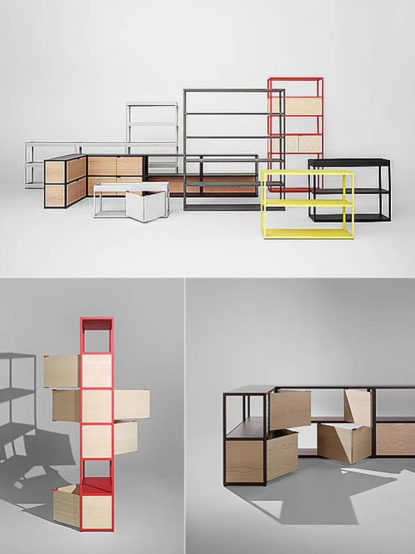New Order Shelving System by Stefan Diez and Hay | moddea ...