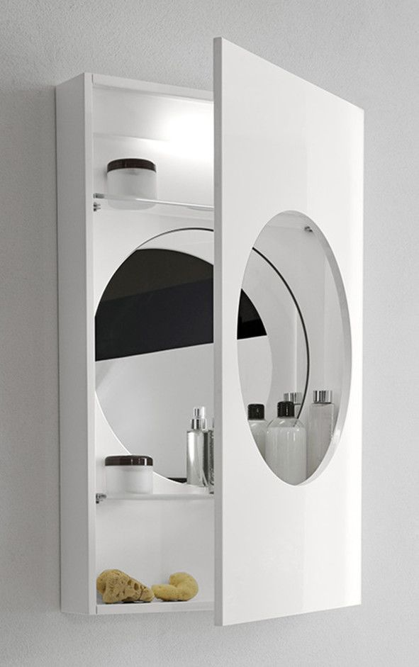 Bathroom Unique Bathroom Mirror Cabinets Design With Fancy Round Hole Model And Bathroom Mirror Cabinet Decorative Bathroom Mirrors Bathroom Mirror With Shelf