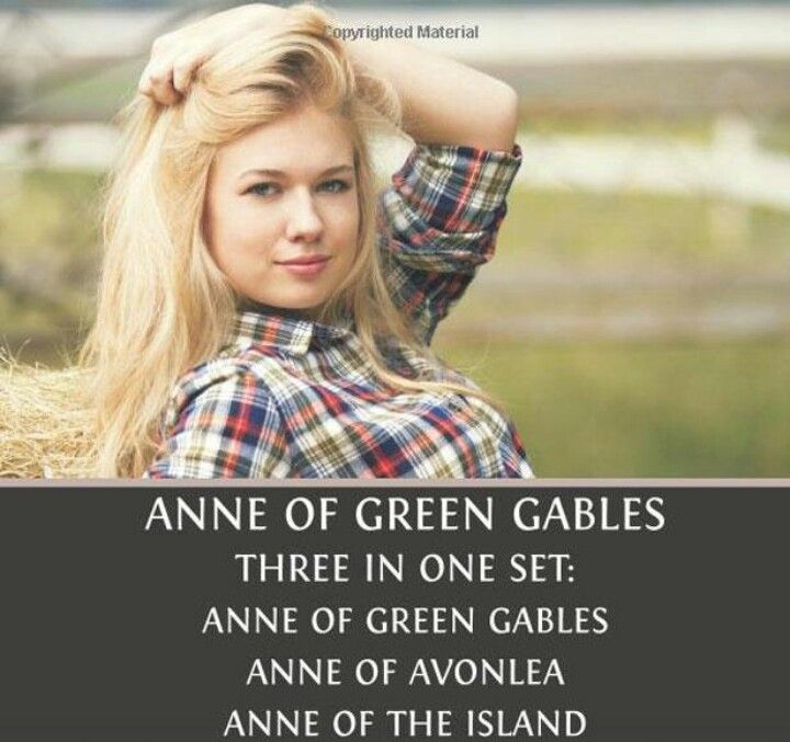 Say what? Anne of Green Gables as a blonde. Epic fail!