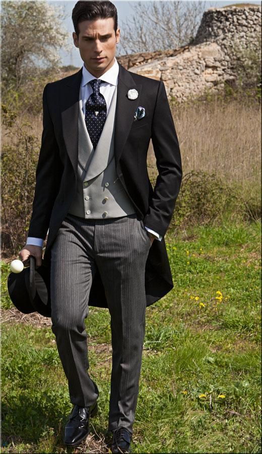 2016 Double Breasted Groom Tuxedos Jacket+Pant+Vest Wedding Suit For Men  Mens Fashion Tux Tuxedos After Six Groom Suits White And Black Prom Suit  1920s Mens ... 88c74be2fb2