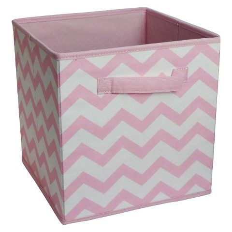 Decorative Fabric Storage Boxes Storage Basket For Girls Playroom Closet Fabric Cube Storage Bin