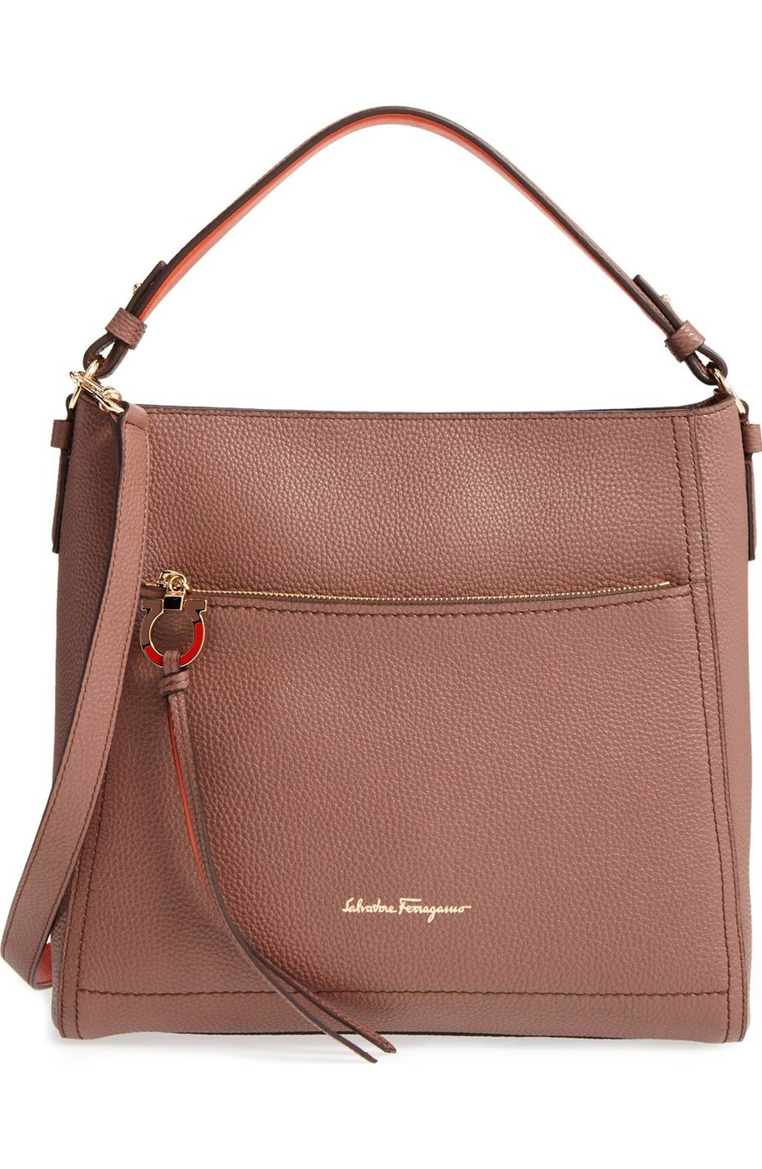 857515b12d Designer Handbags for Women. Main Image - Salvatore Ferragamo Large Ally  Leather Hobo