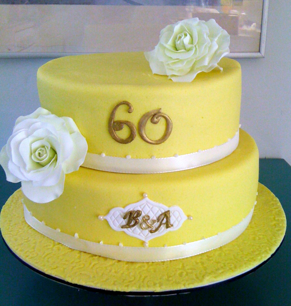 60th anniversary cake torte zum 60 hochzeitstag cakes by me pinterest torten. Black Bedroom Furniture Sets. Home Design Ideas