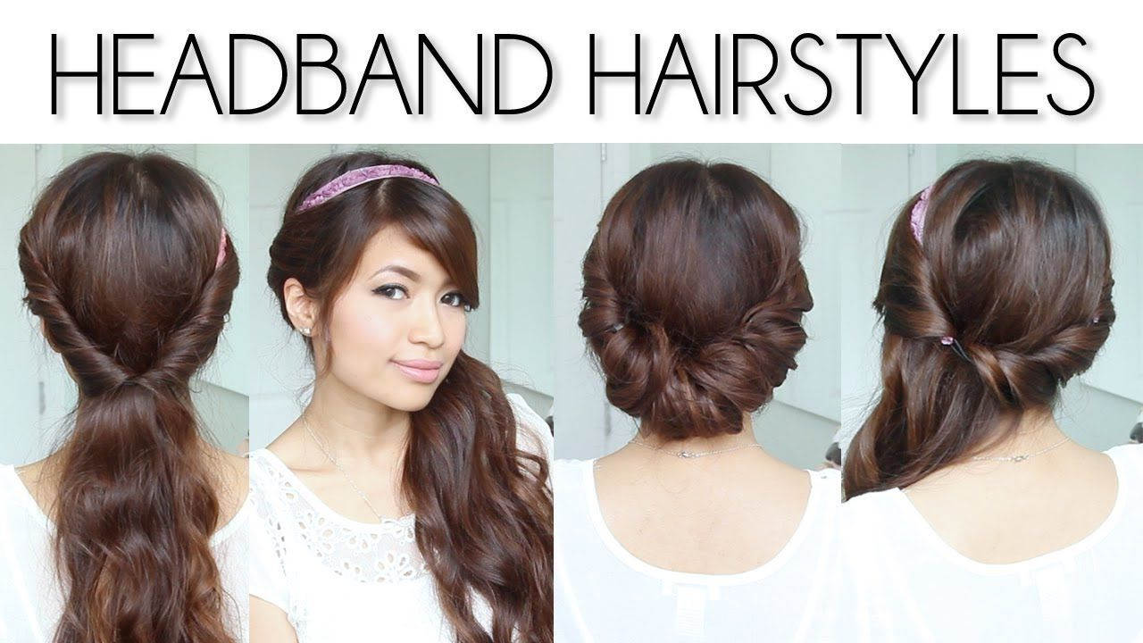 cute easy hairstyles for long thin straight hair - simple