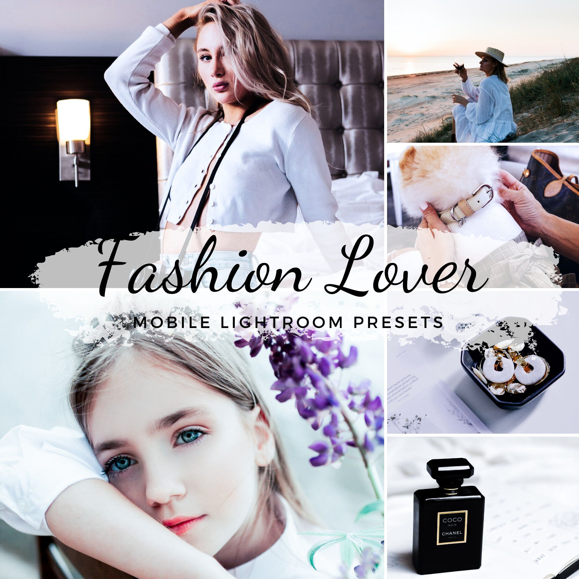 Mobile Lightroom Presets / Fashiongram Presets / Fashionable Bright Presets / Fashion Style Presets / Fashion Blogger / Instagram Filter