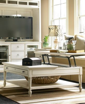 Tremendous Sag Harbor White Table Collection Decorating Table Lift Evergreenethics Interior Chair Design Evergreenethicsorg