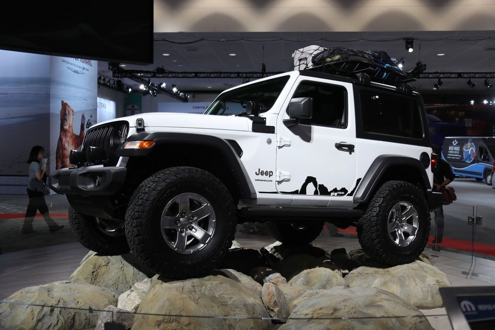 2018 Jeep Wrangler Mega Photo Gallery Two Door Jeep Wrangler Jeep Wrangler Jeep