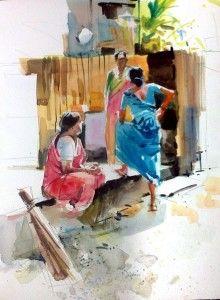 Millind Mulick Milind Mulick Timeline Ladies Indian Art