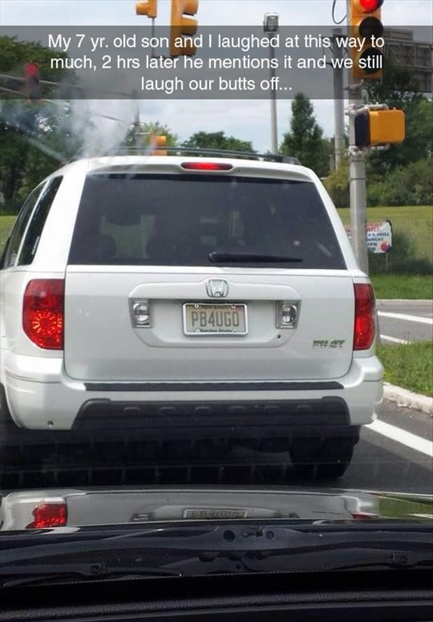 Jeff Gordon Chevrolet >> Hilarious License Plate | Silly jokes, Funny
