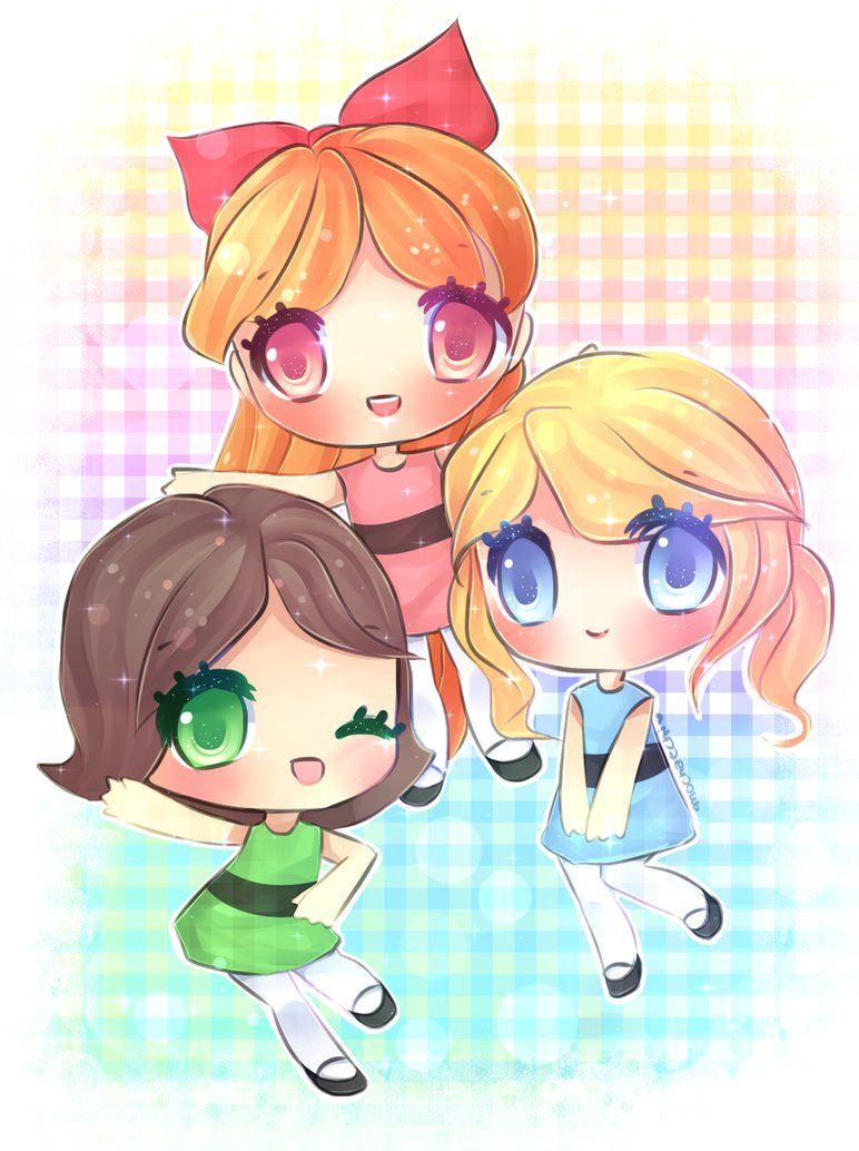 Powerpuff Girls By Mochatchi On Deviantart  Powerpuff -5532