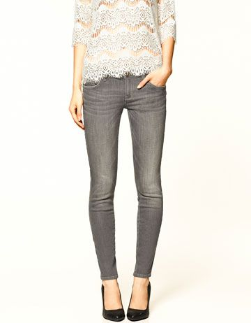 i've always wanted a pair of grey skinny jeans