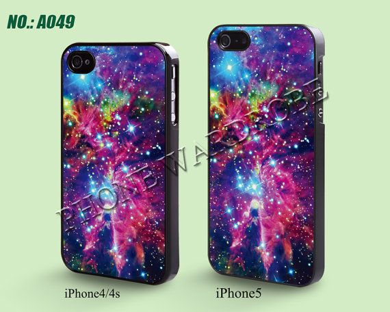 iPhone 4 Case iPhone 4S Case, iPhone 5 Case, Nebula, Plastic Phone Cases, Case for iphone, Please Choose Case Model-A049 on Etsy, $6.99
