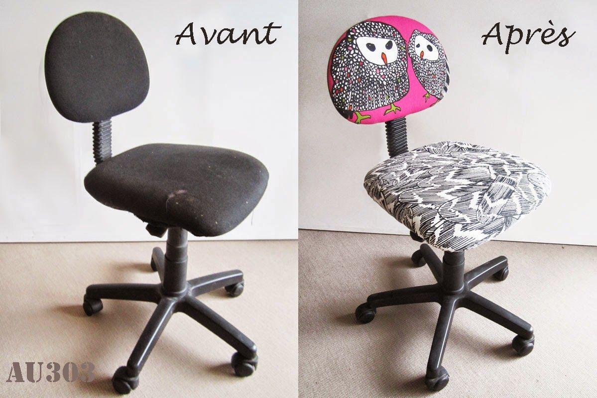 customiser une chaise de bureau sans démonter