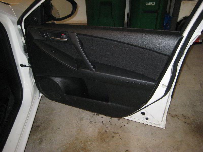 Mazda Mazda3 Interior Door Panel Take Off To Upgrade Door Speaker