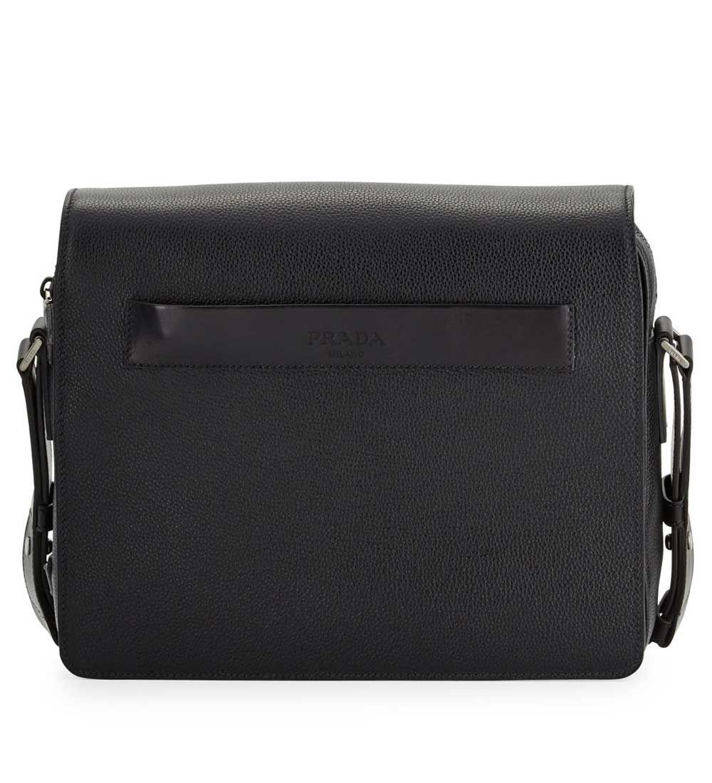 18c3749d9a ... women bags rpyj28gf d2b8c c3dc9 clearance prada mens leather messenger bag  black buy replica watches designer replica handbags cheap wallets shoes ...