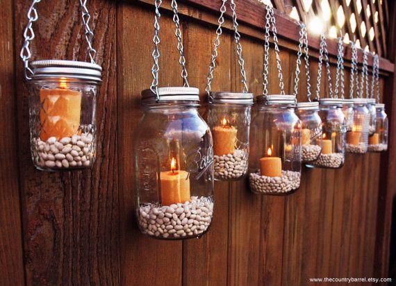 Best 25+ Hanging Mason Jars Ideas On Pinterest