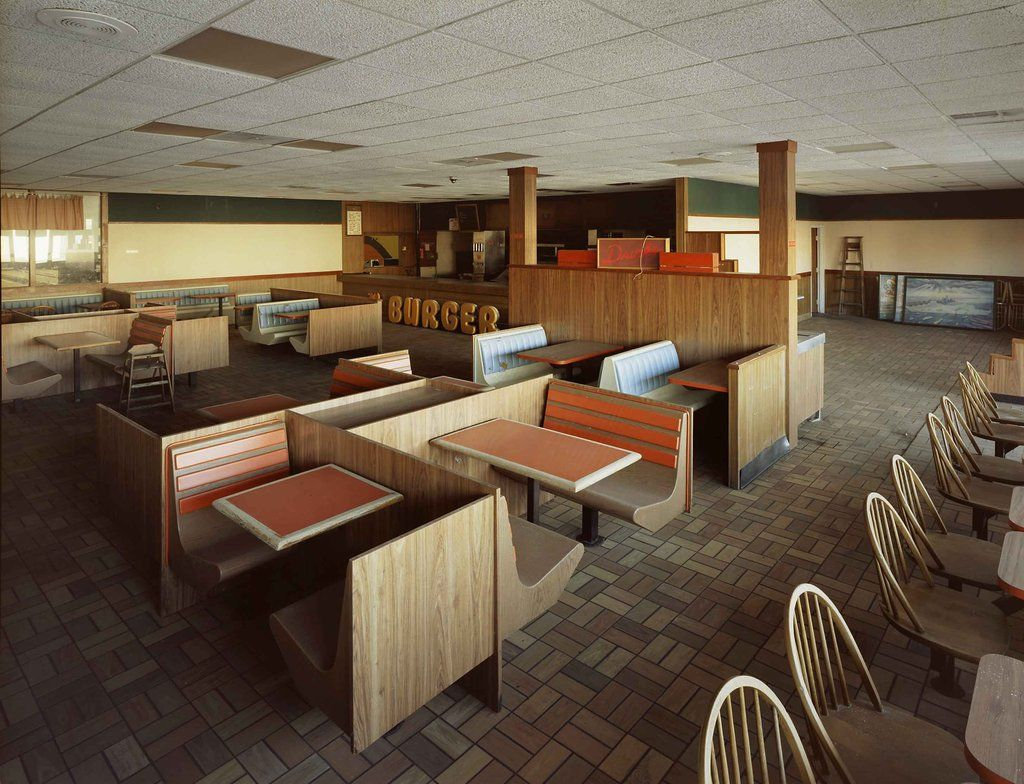 Abandoned S Style Burger King Restaurant Governors Island New - Governors of new york