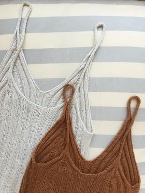 Photo of Camisole nr. 2 – MY FAVORITE THING • STRIKKER