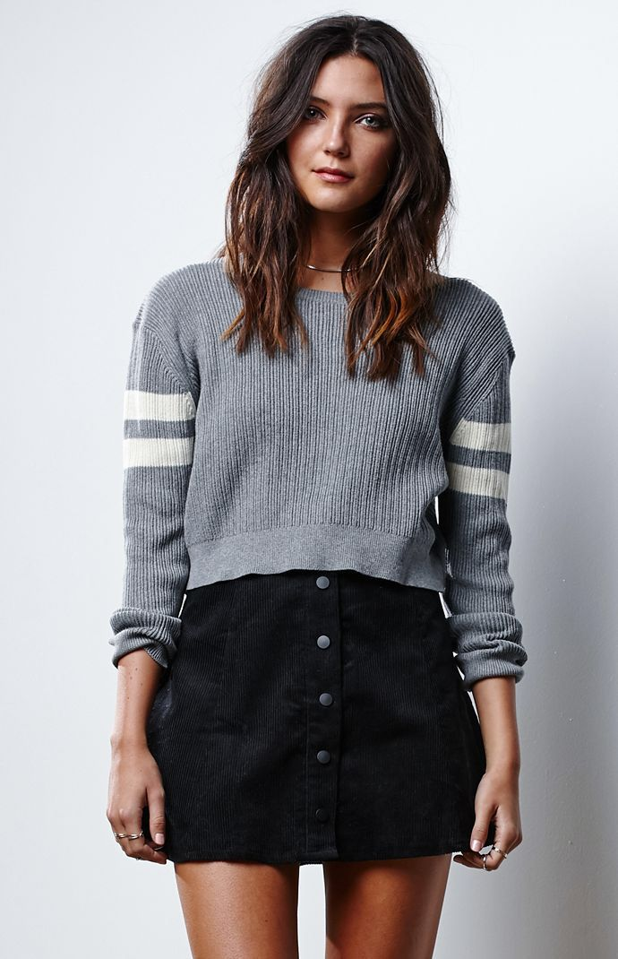 729b4a0884 Hooked on Corduroy Button-Down Skirt that I found on the PacSun App ...