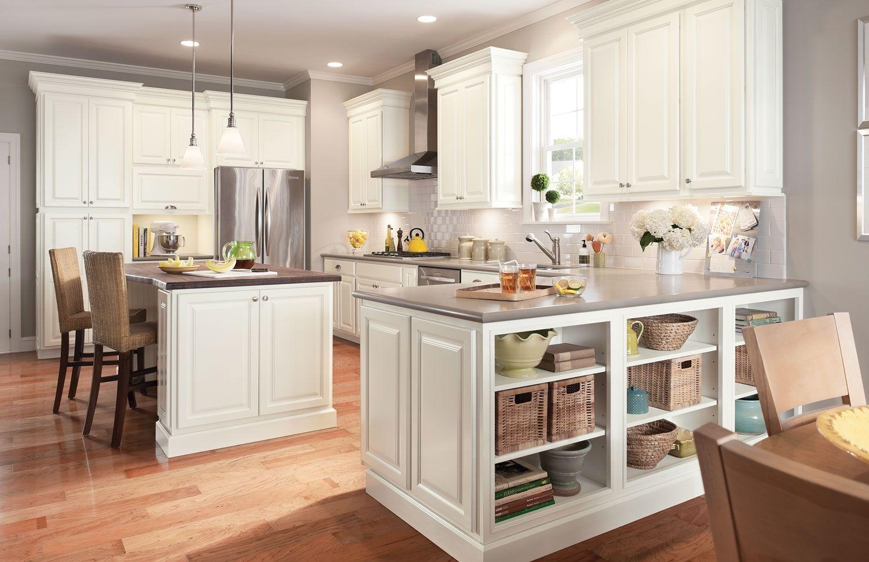 Kitchen Cabinets Linen White