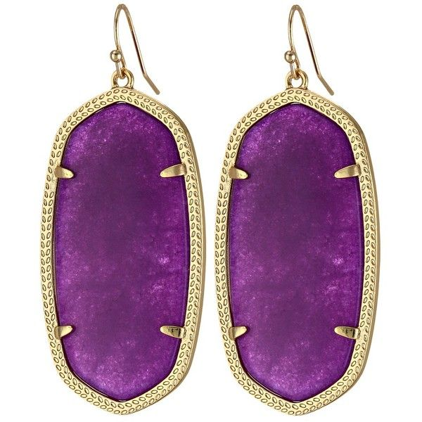 kendra in scott danielle tradesy jade i earrings purple