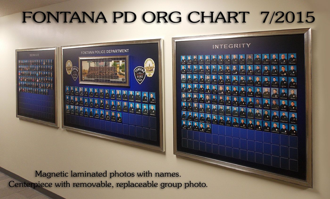 Http Www Badgeframe Com Fontana 20pd Html Org Chart Fontana Frame