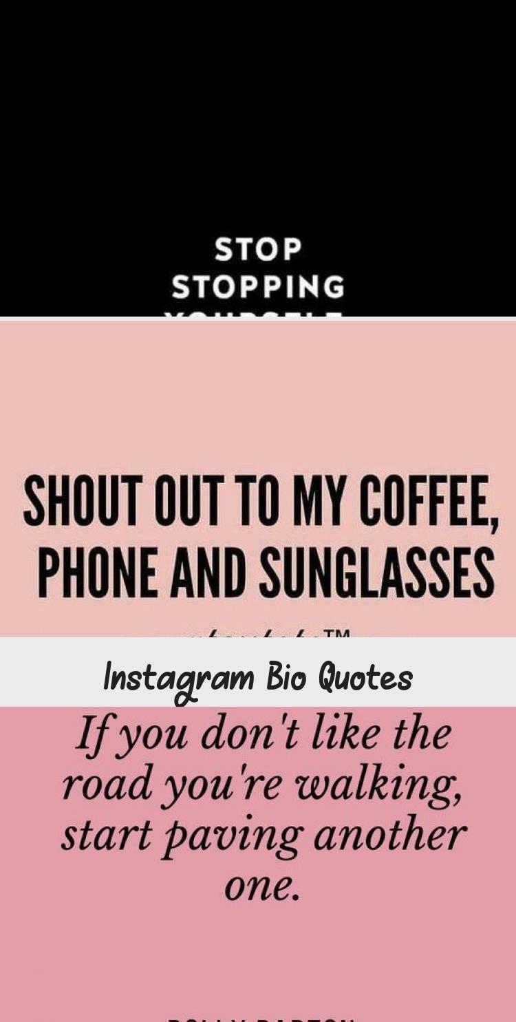 Instagram Bio Quotes em 2020 Bios, Quote, Instagram