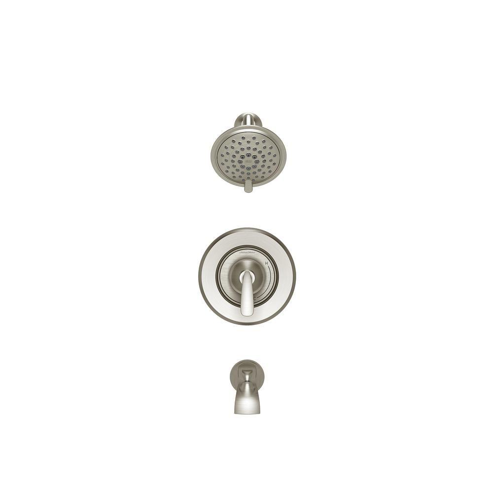 American Standard Somerville Single Handle 3 Spray Shower Faucet