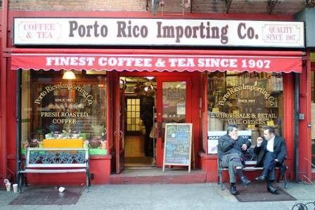Porto Rico Importing Co 201 Bleecker Street Nyc Porto Bleecker Street